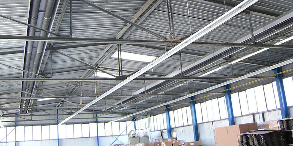 سیستم گرمایش تابشی سوله و کارگاه