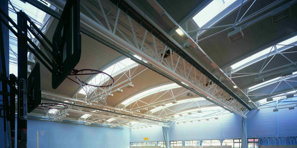 سیستم گرمایش تابشی سالن های ورزشی